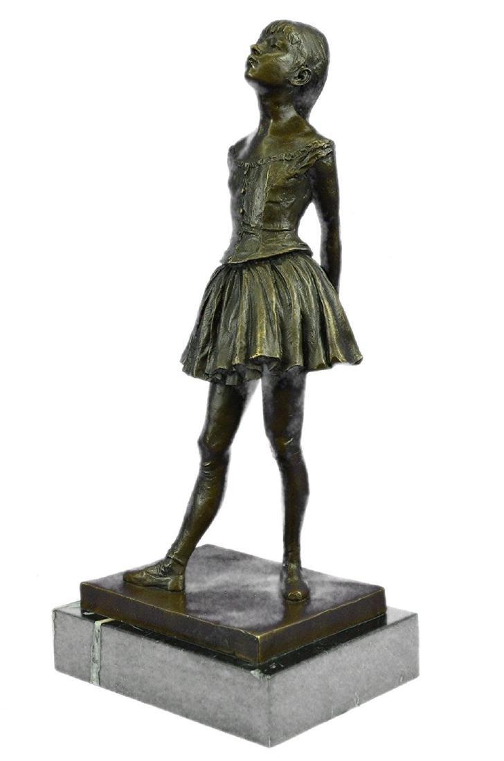 Ballerina The Little Dancer Bronze Sculpture - 9