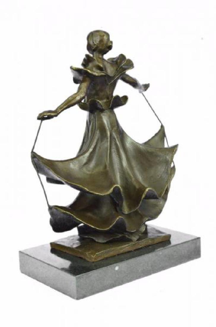 Dalinian Dancer Bronze Sculpture - 2