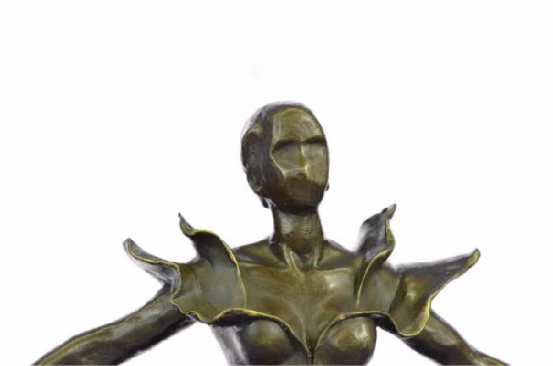Dalinian Dancer Bronze Sculpture - 6