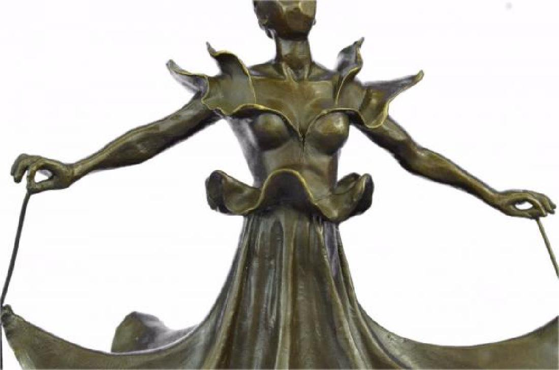 Dalinian Dancer Bronze Sculpture - 7