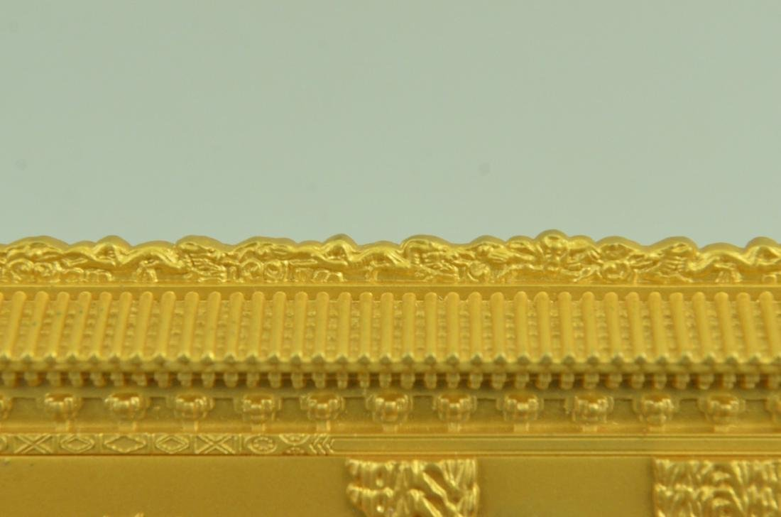 Gold Plexiglases Dragon Sculpture - 4