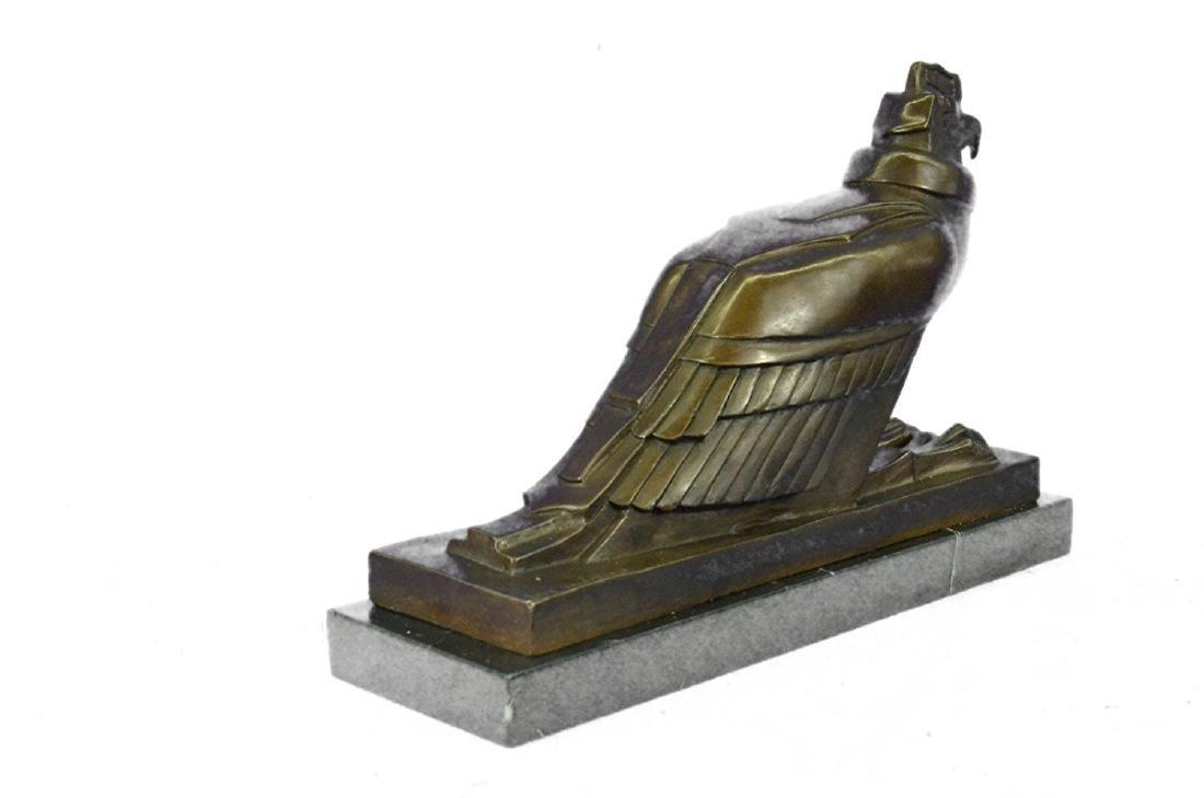 An Egyptian Style Figure of The Horus falcon Bronze - 8
