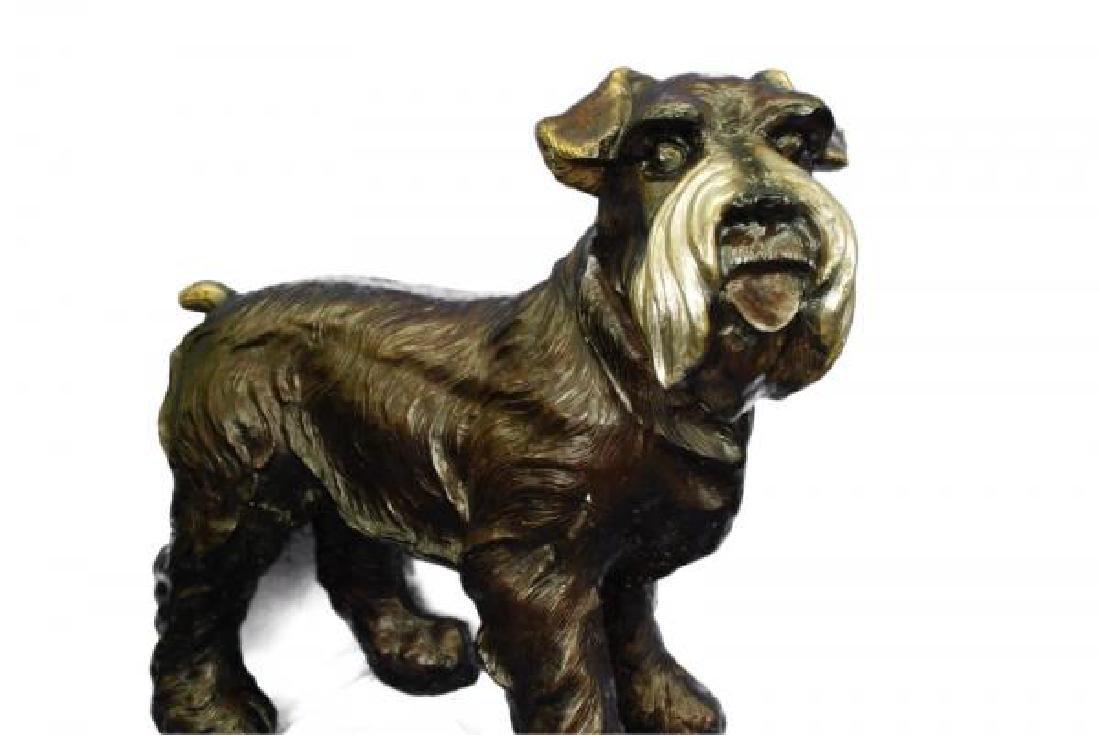 Welsh Terrier Bronze Sculpture - 2