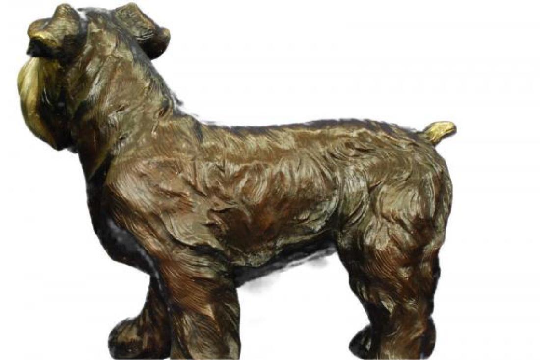 Welsh Terrier Bronze Sculpture - 3