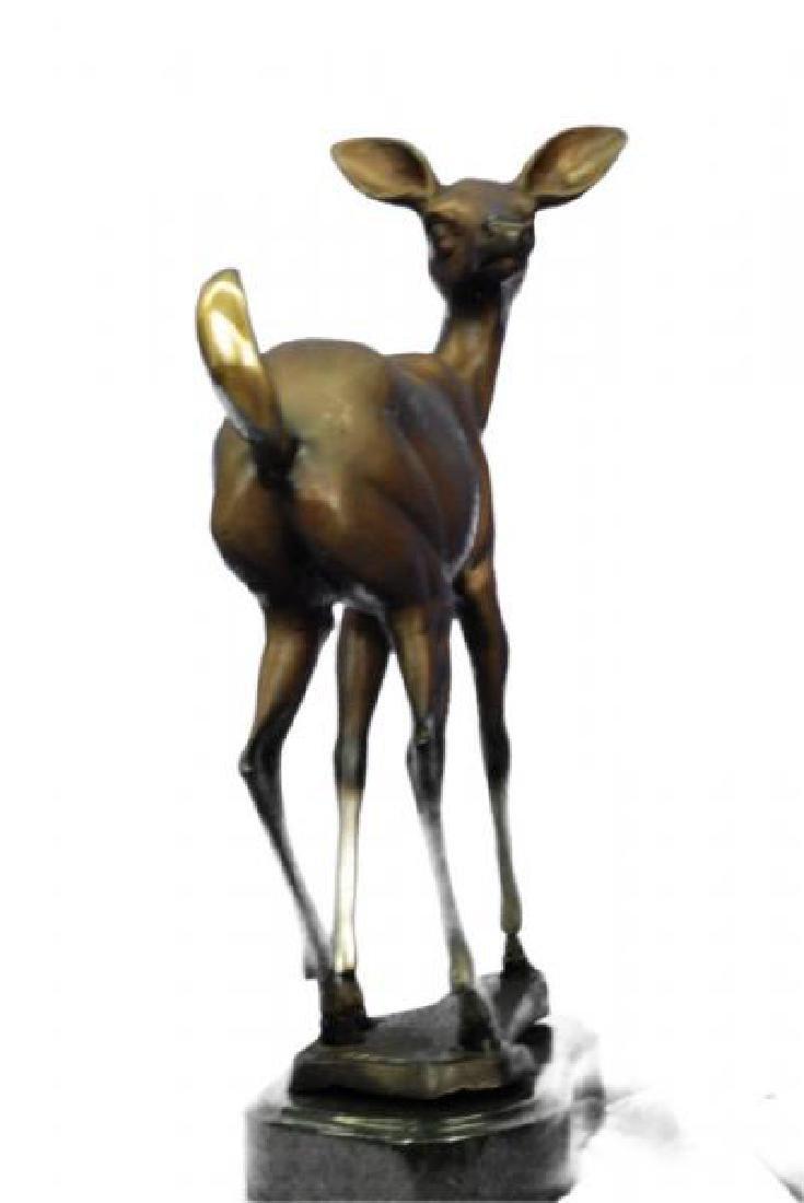 Vienna Deer Bronze Statue - 2