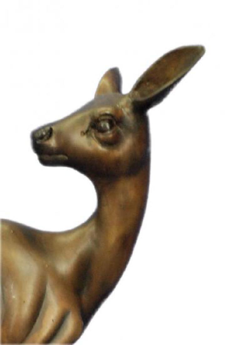 Vienna Deer Bronze Statue - 6