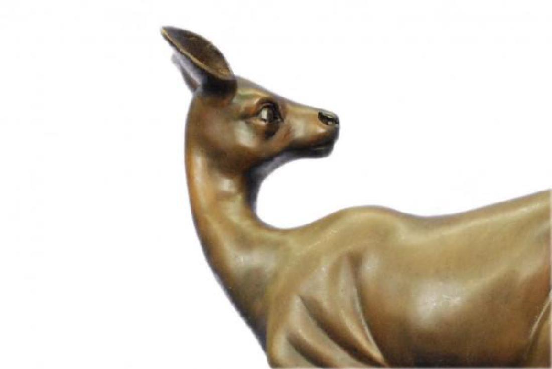Vienna Deer Bronze Statue - 7