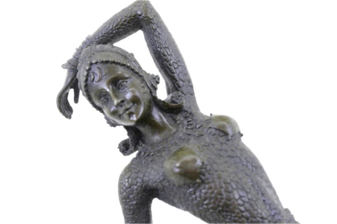 Show Girl Dancer Bronze Sculpture - 2