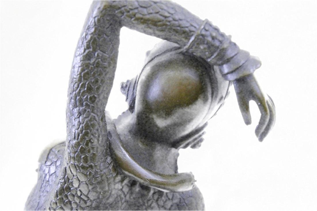 Show Girl Dancer Bronze Sculpture - 6