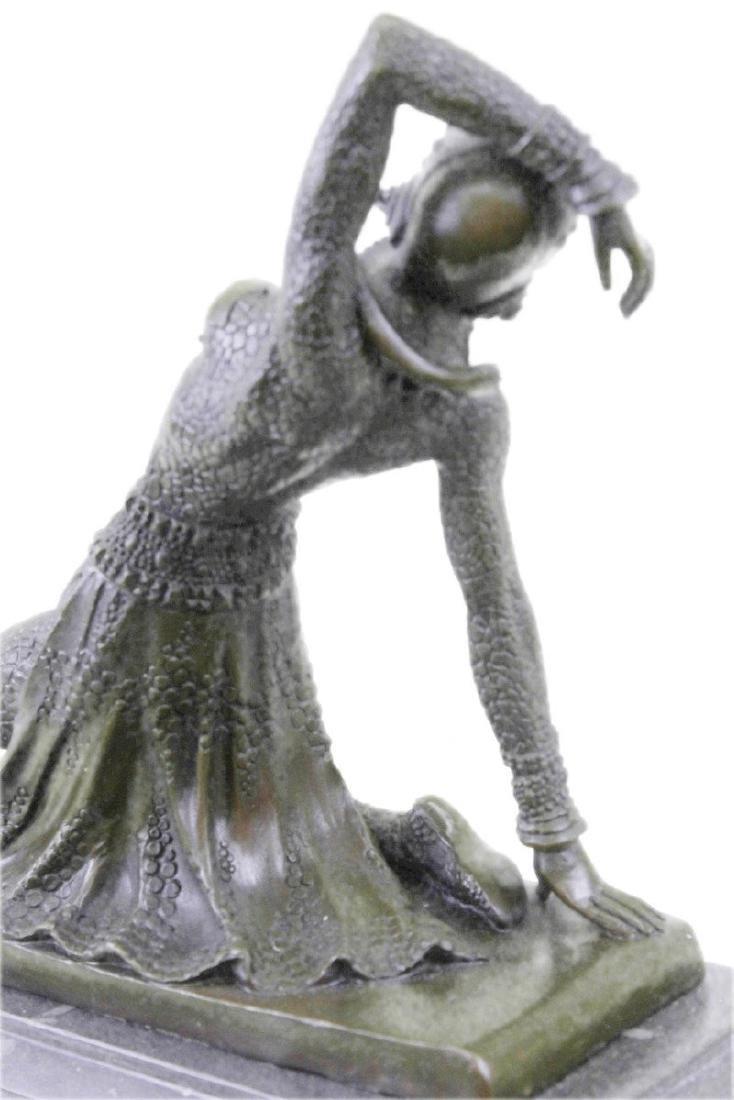 Show Girl Dancer Bronze Sculpture - 8