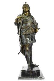 Warrior Prince Bronze Statue