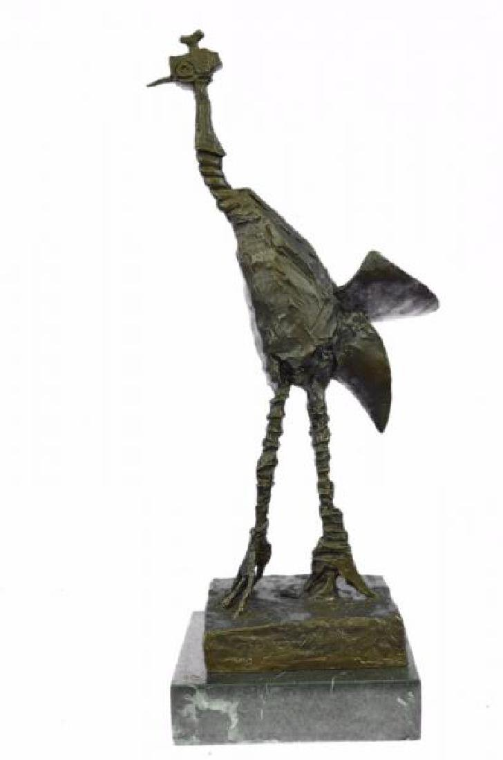 Wild Life Edition Bronze Sculpture on Marble Base