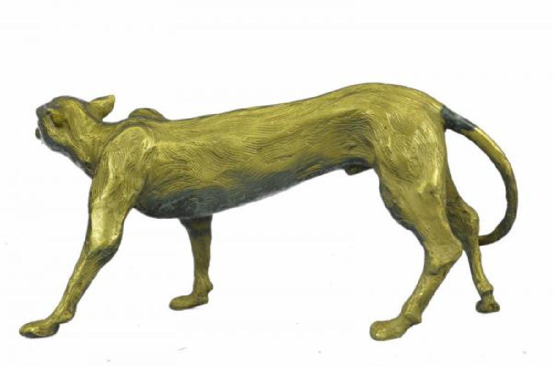 Cougar Puma Bronze Sculpture - 3