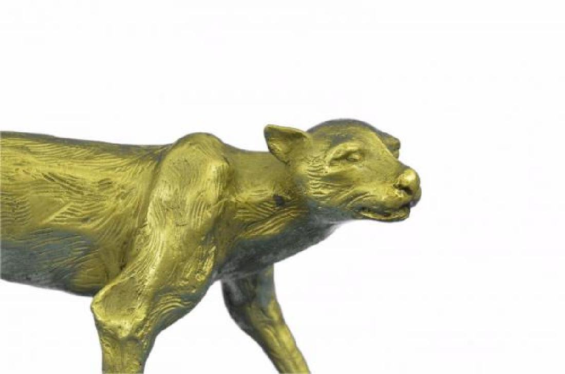 Cougar Puma Bronze Sculpture - 5