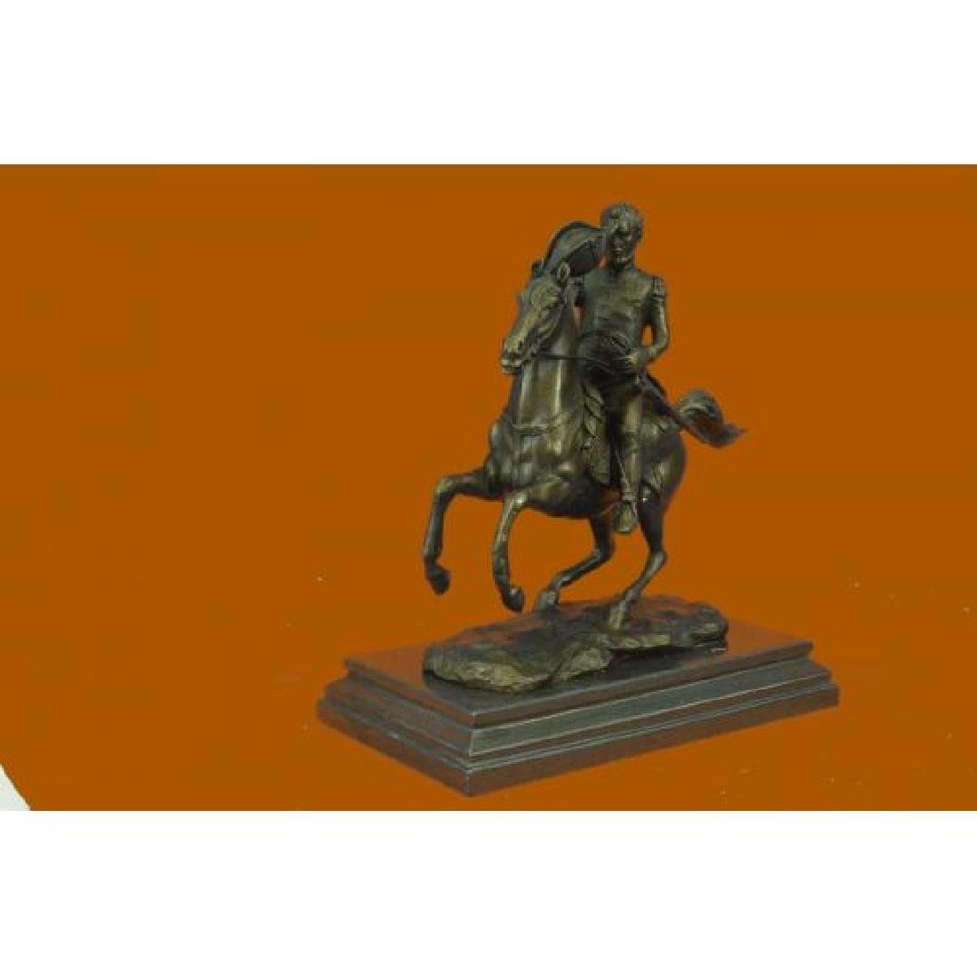 HHenry Warner Slocum Union general Bronze Sculpture - 2
