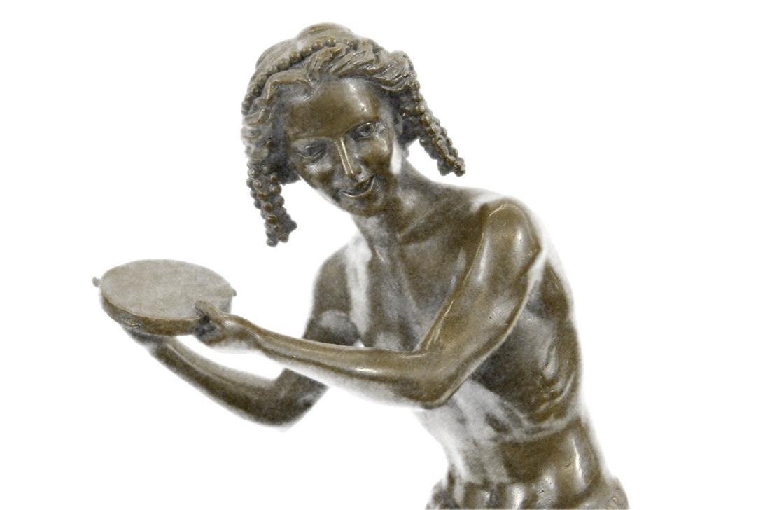 Dancing Youth Bronze Sculpture - 2