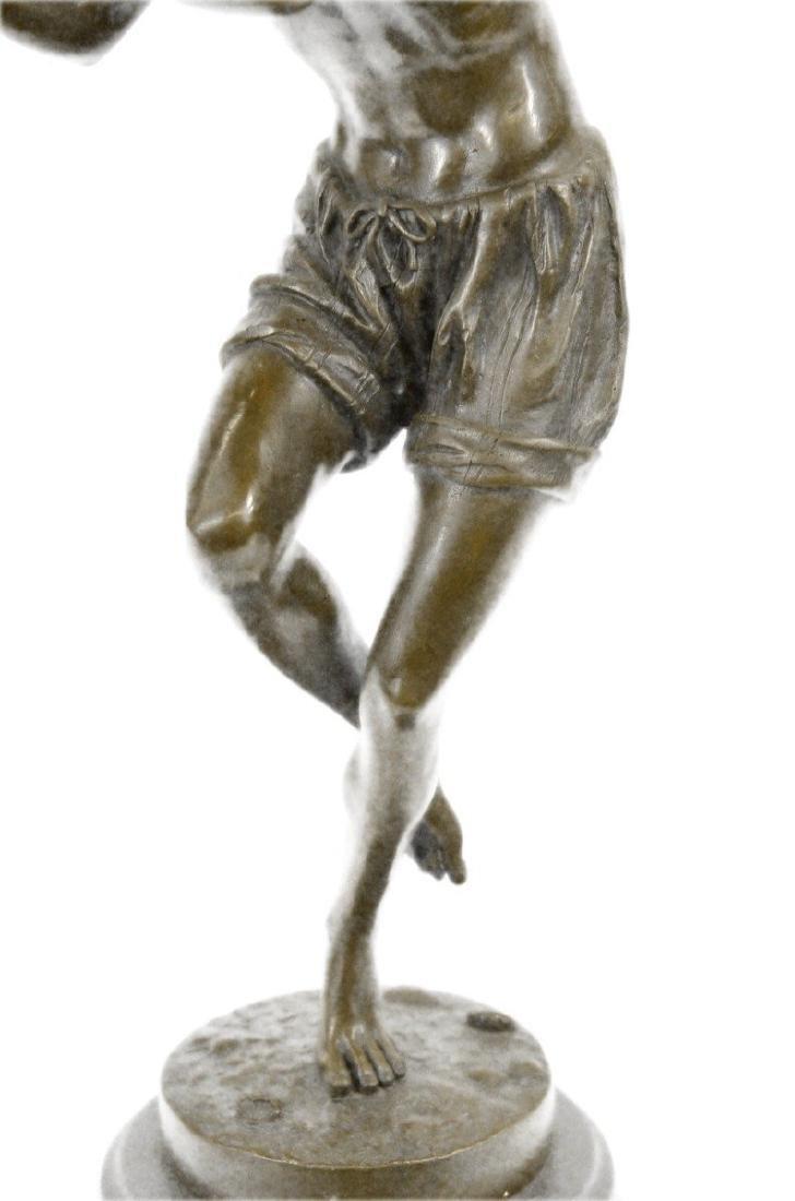 Dancing Youth Bronze Sculpture - 3