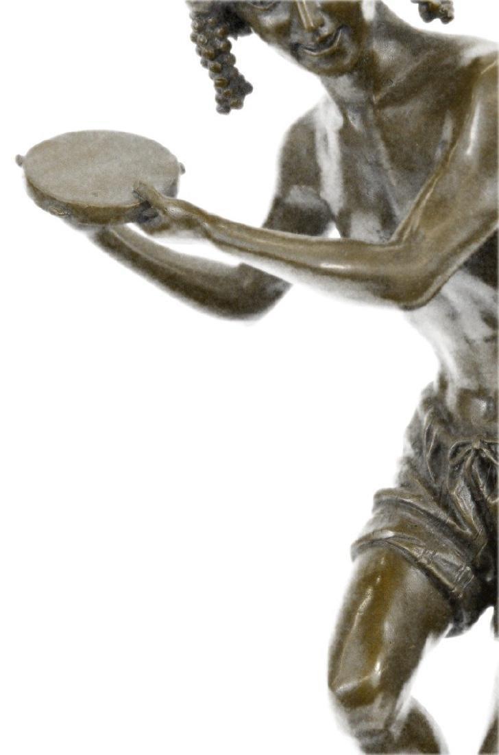 Dancing Youth Bronze Sculpture - 4