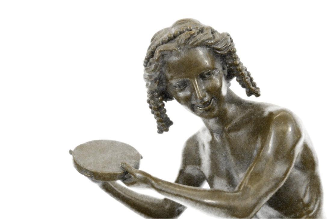 Dancing Youth Bronze Sculpture - 5