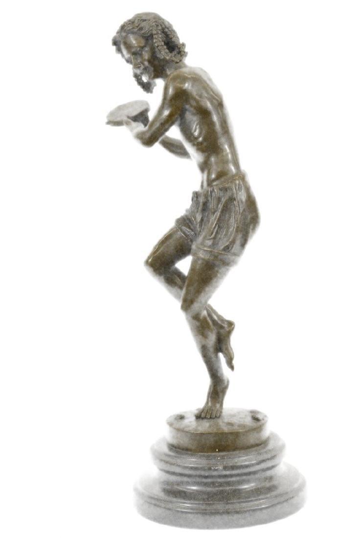 Dancing Youth Bronze Sculpture - 6