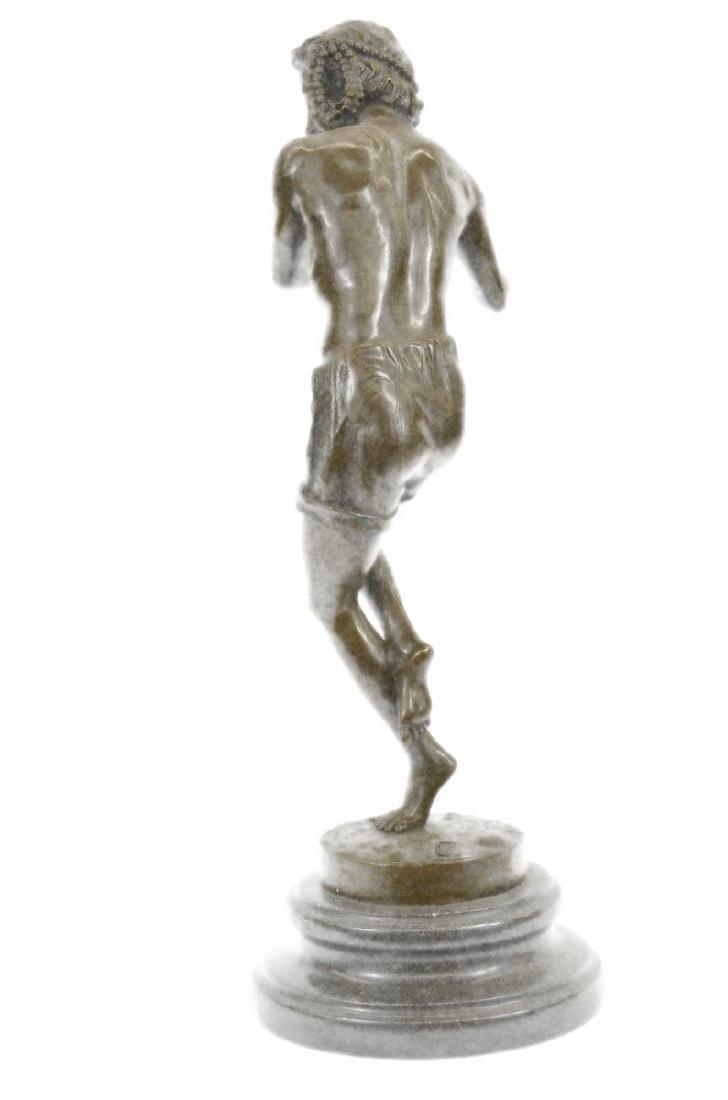 Dancing Youth Bronze Sculpture - 7