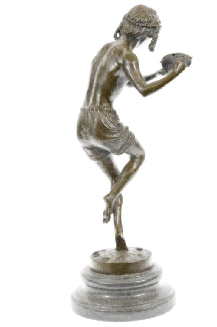 Dancing Youth Bronze Sculpture - 8