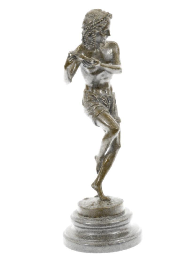 Dancing Youth Bronze Sculpture - 9
