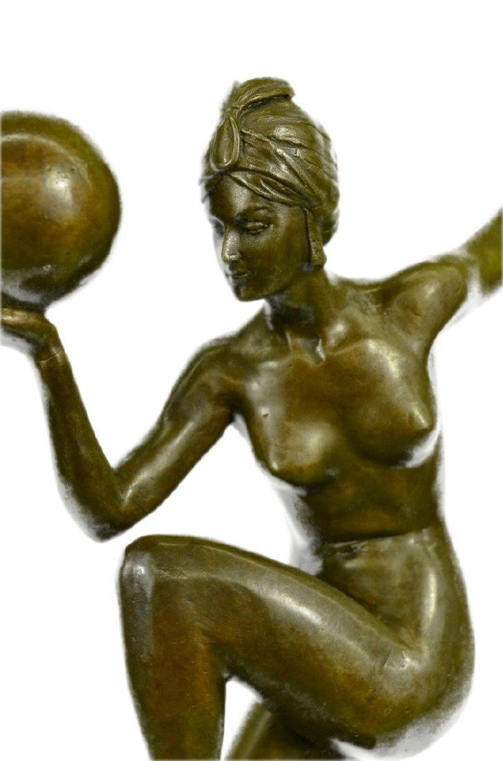 Riviere Dancer Bronze Sculpture - 2