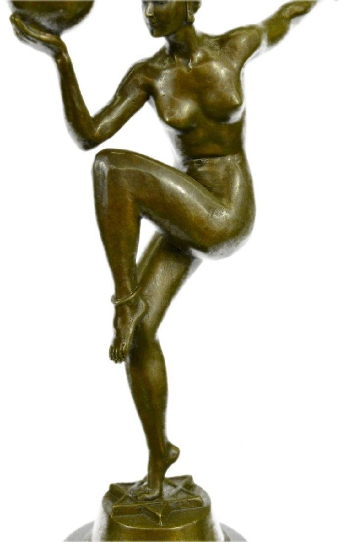 Riviere Dancer Bronze Sculpture - 3