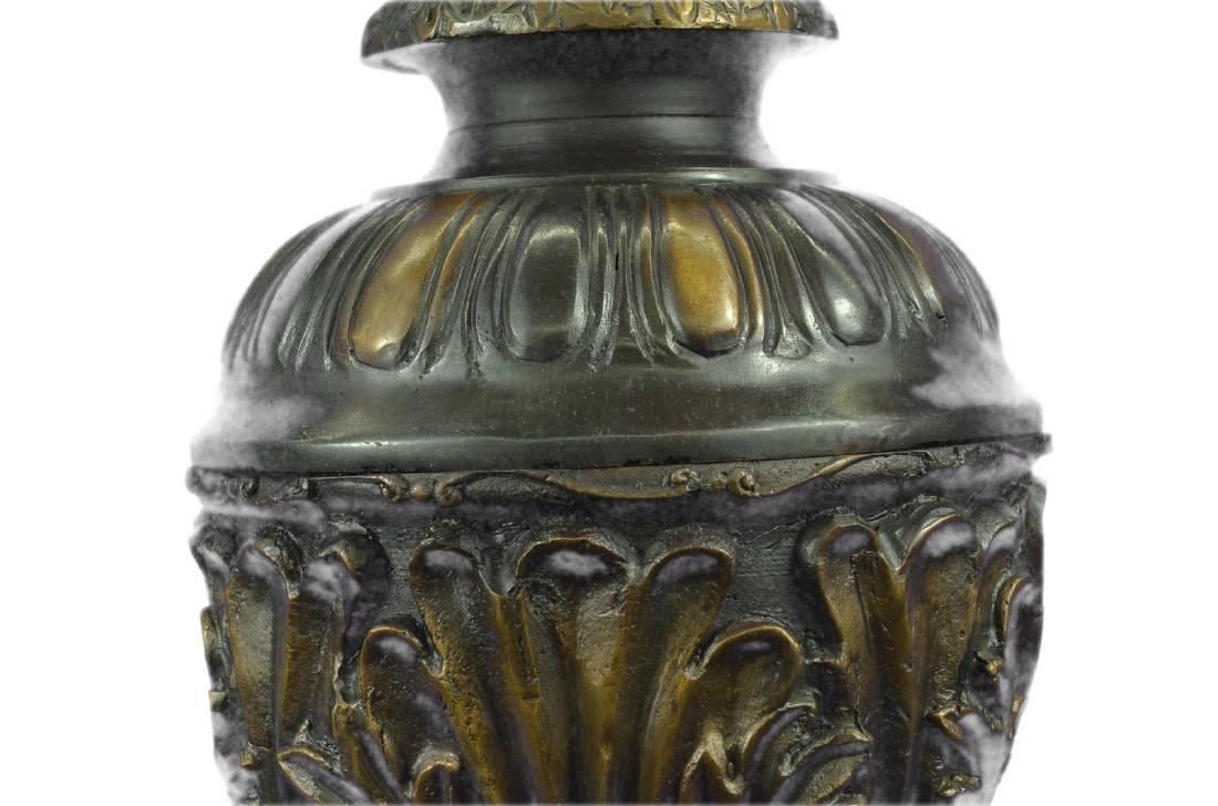 Urn Bronze Sculpture - 2