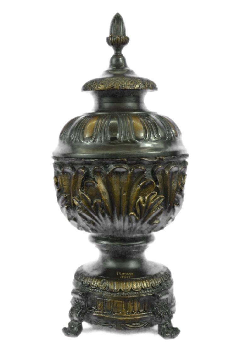 Urn Bronze Sculpture - 6