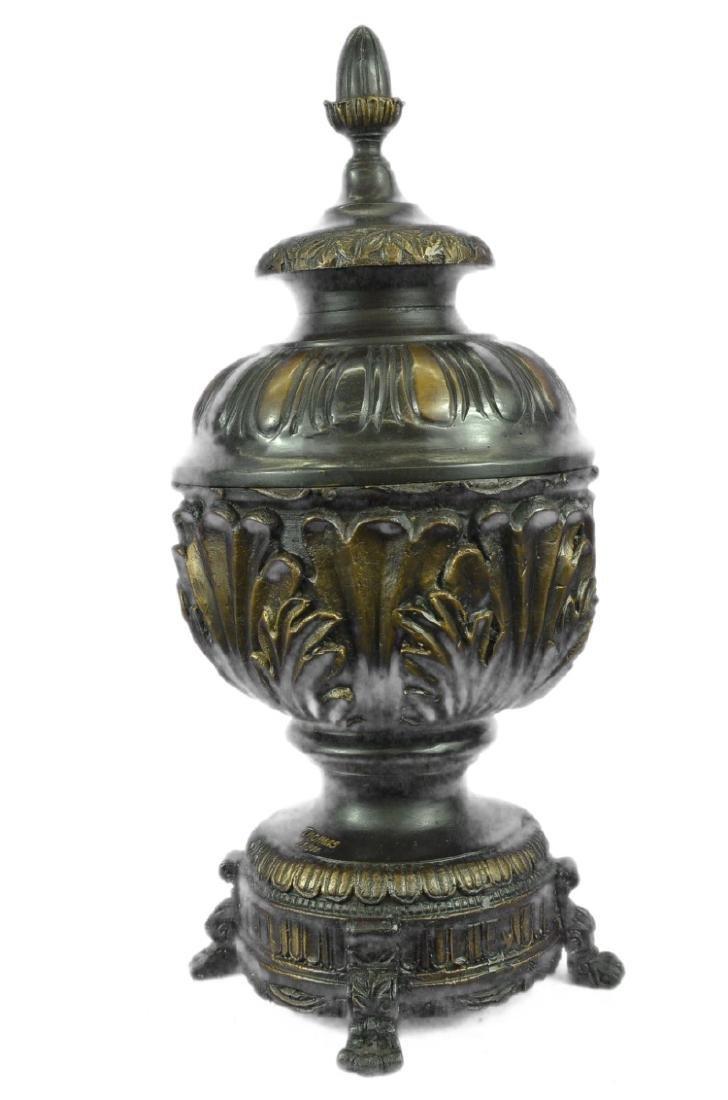 Urn Bronze Sculpture - 7
