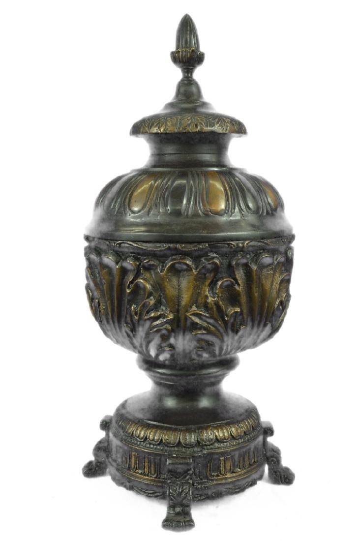 Urn Bronze Sculpture - 8