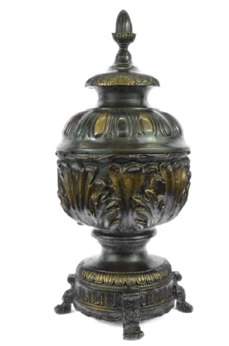 Urn Bronze Sculpture - 9