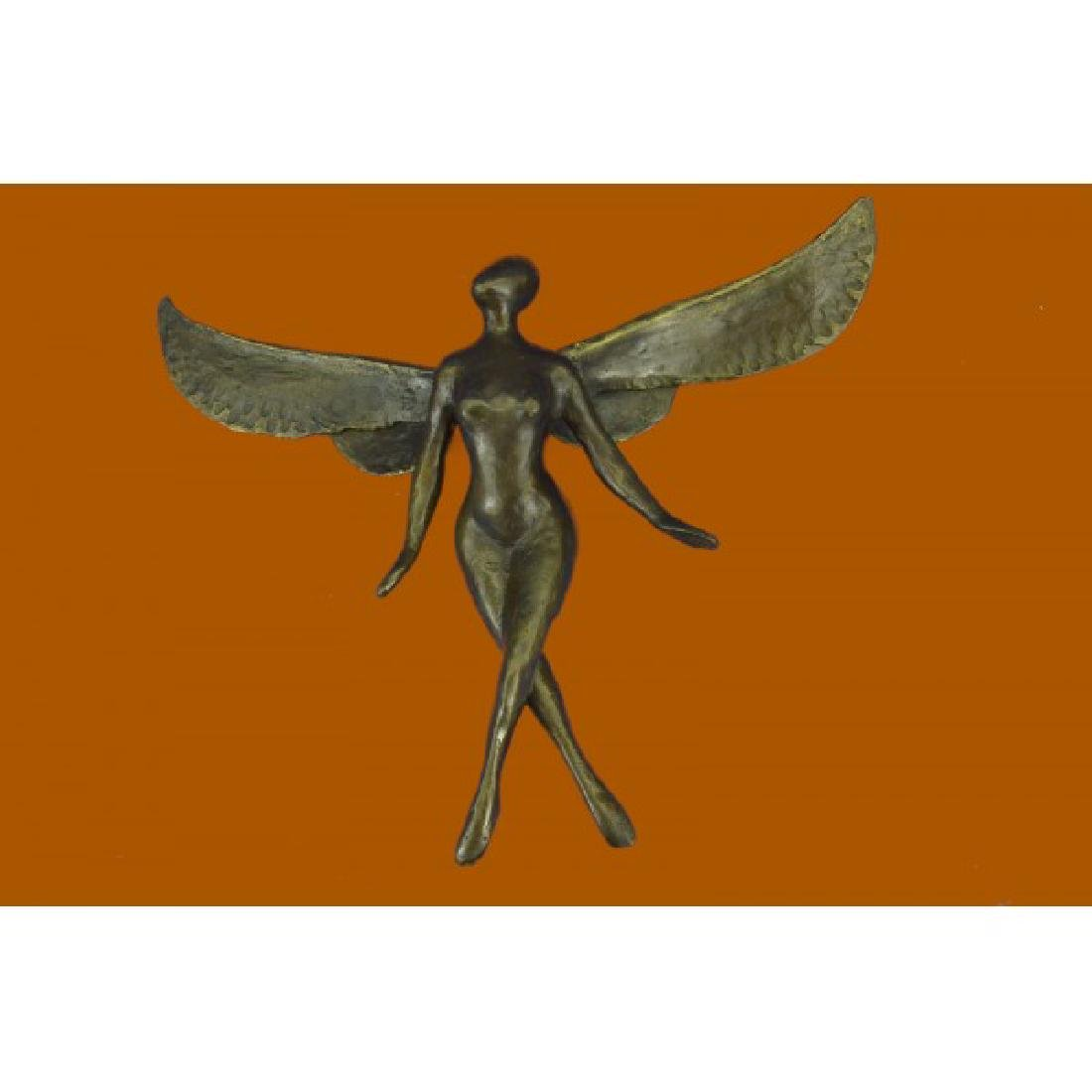 Brown Patina Bronze Sculpture