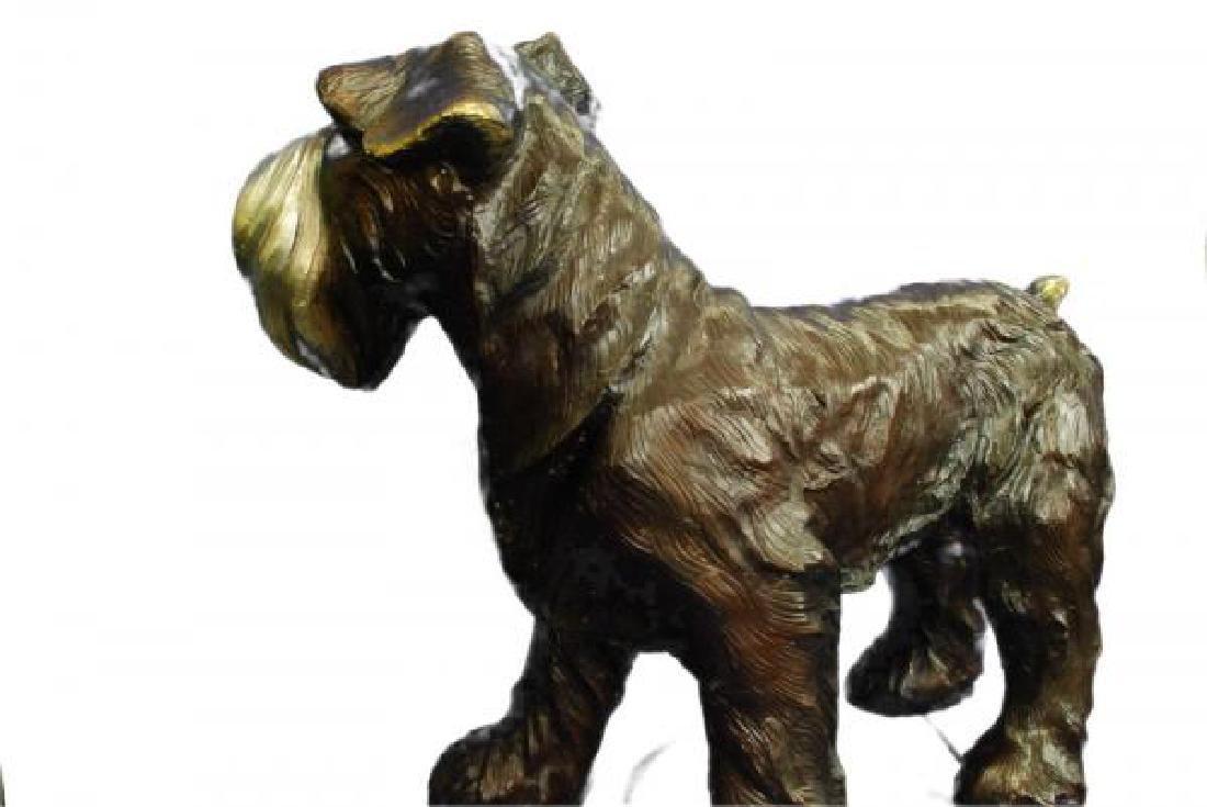 Welsh Terrier Bronze Sculpture - 4