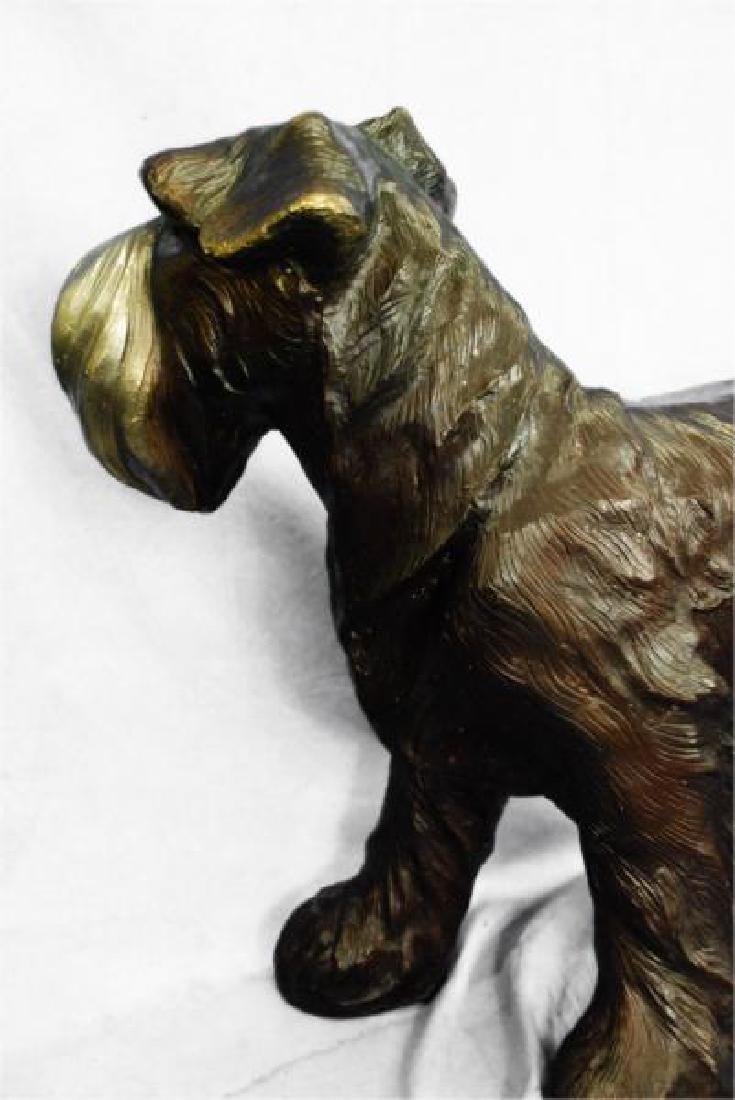 Welsh Terrier Bronze Sculpture - 5