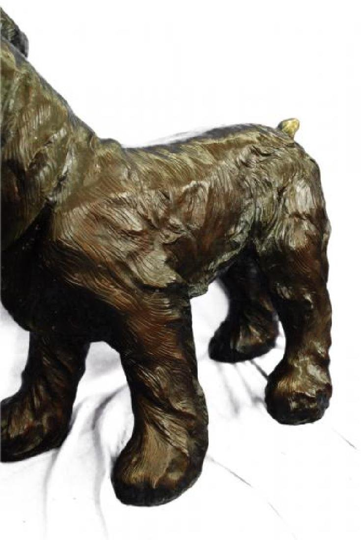 Welsh Terrier Bronze Sculpture - 6