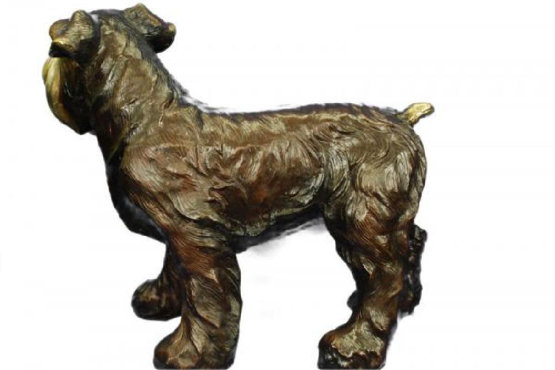 Welsh Terrier Bronze Sculpture - 7