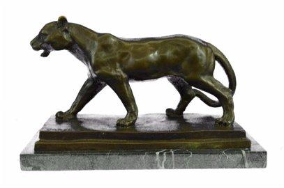 California Jaguar Bronze Sculpture