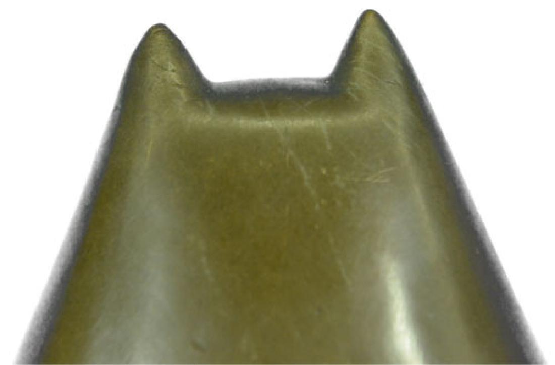 Modern Art Bronze Fat Cat Bronze Sculpture - 3