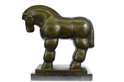 Modern Art Roman Horse Bronze Sculpture