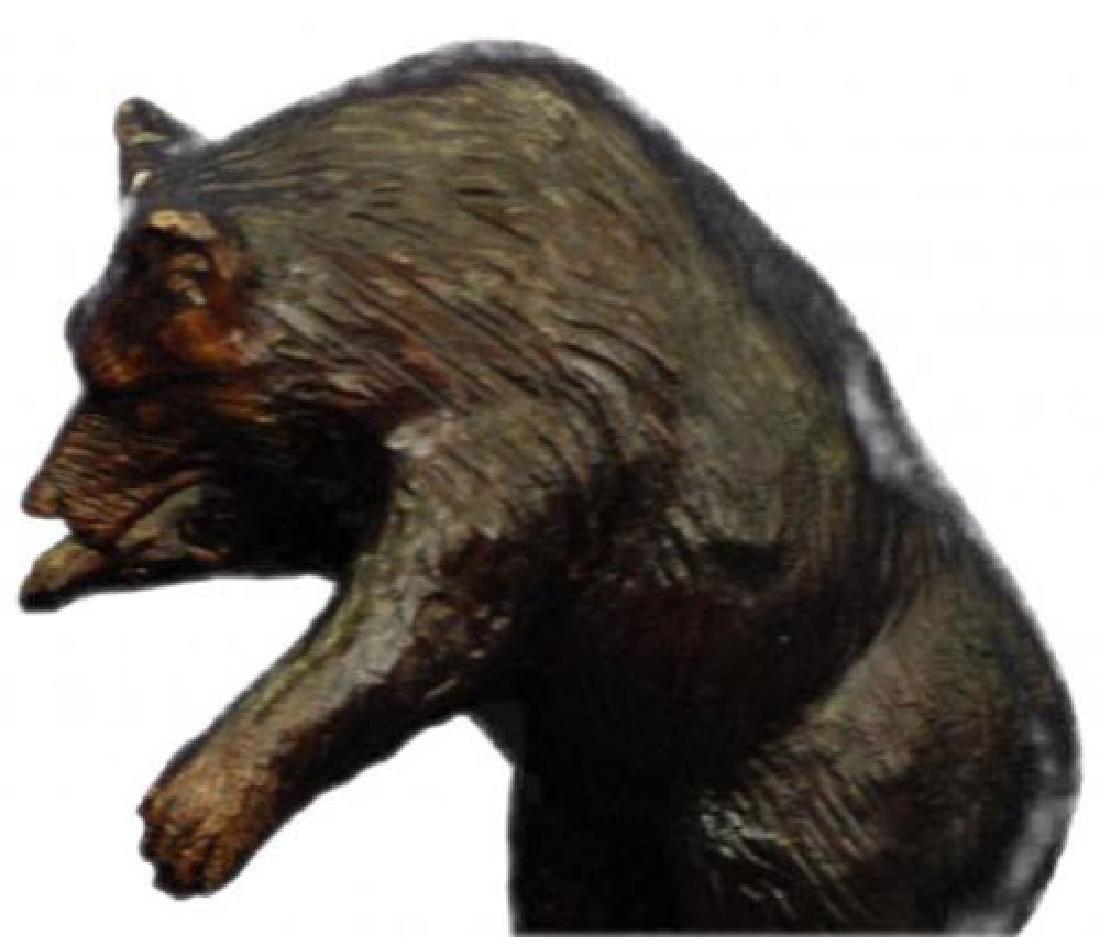 Bear and Bull Bronze Sculpture - 2