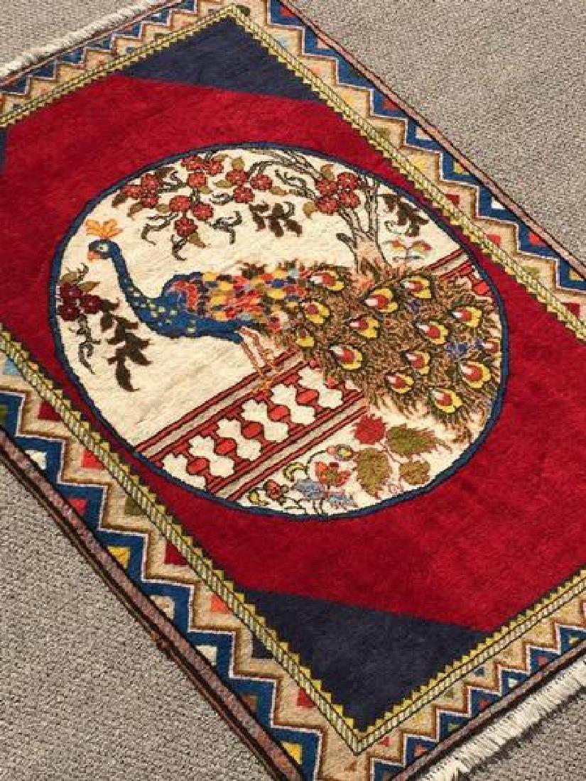 Lovely All Natural Hand woven Persian Arak Rug - 2