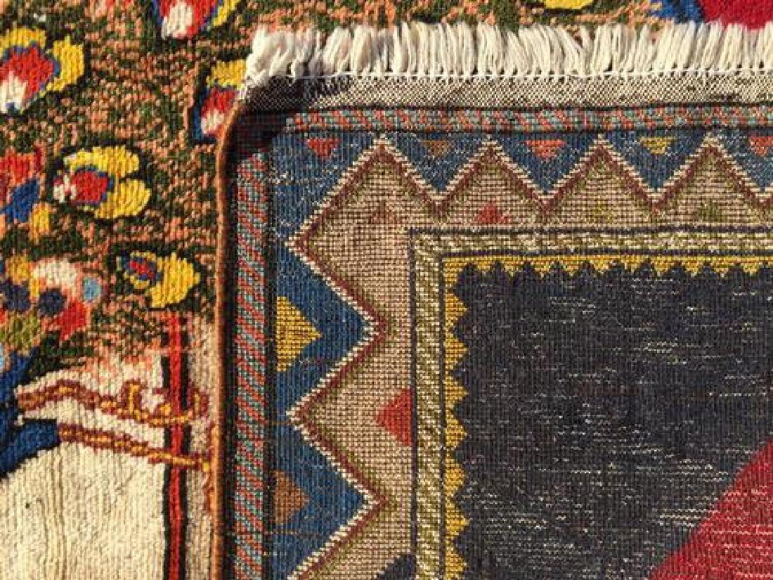 Lovely All Natural Hand woven Persian Arak Rug - 5