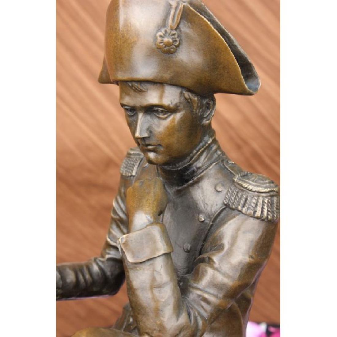 Giant Napoleon Bonaparte Bronze Statue by Aldo Vitaleh - 2