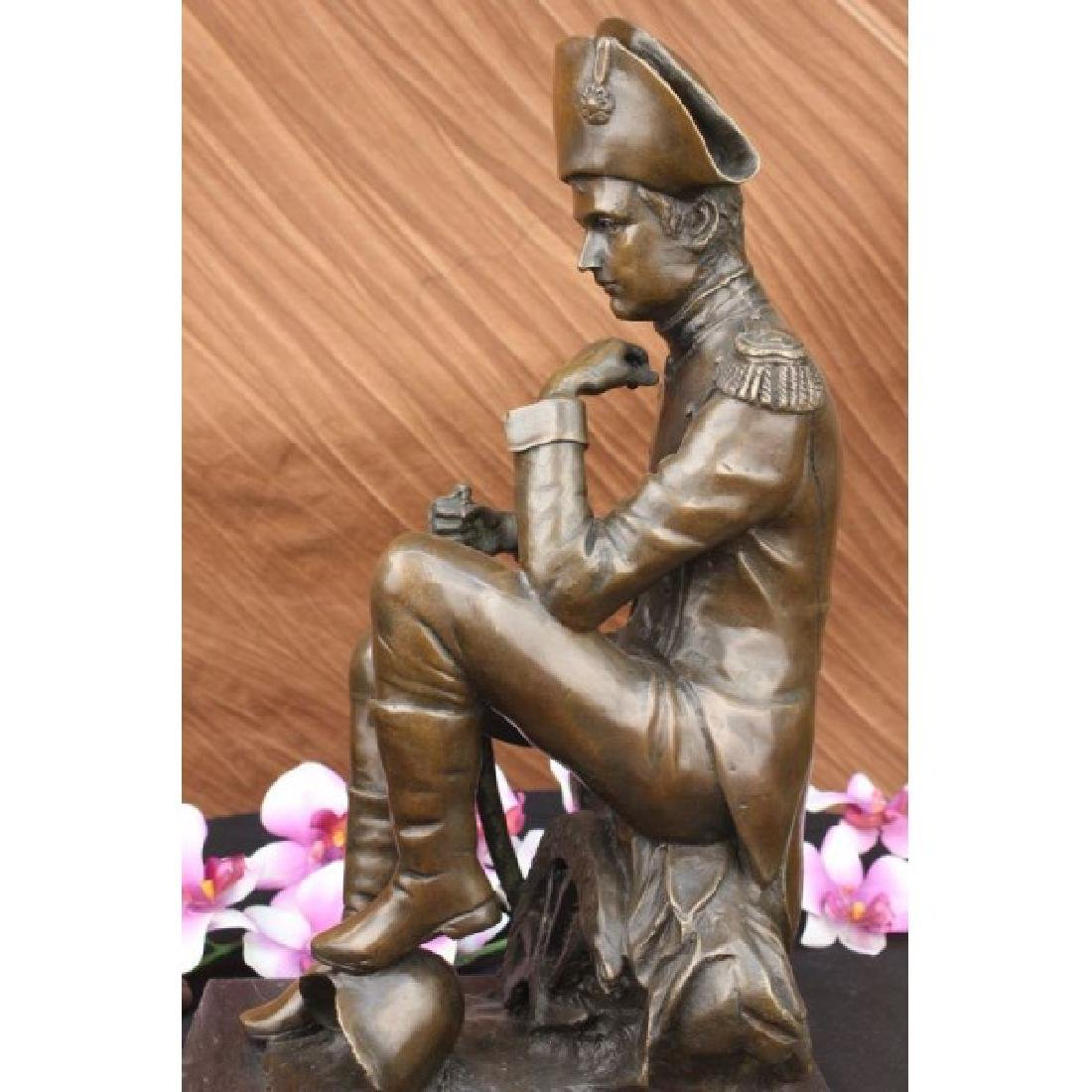 Giant Napoleon Bonaparte Bronze Statue by Aldo Vitaleh - 3
