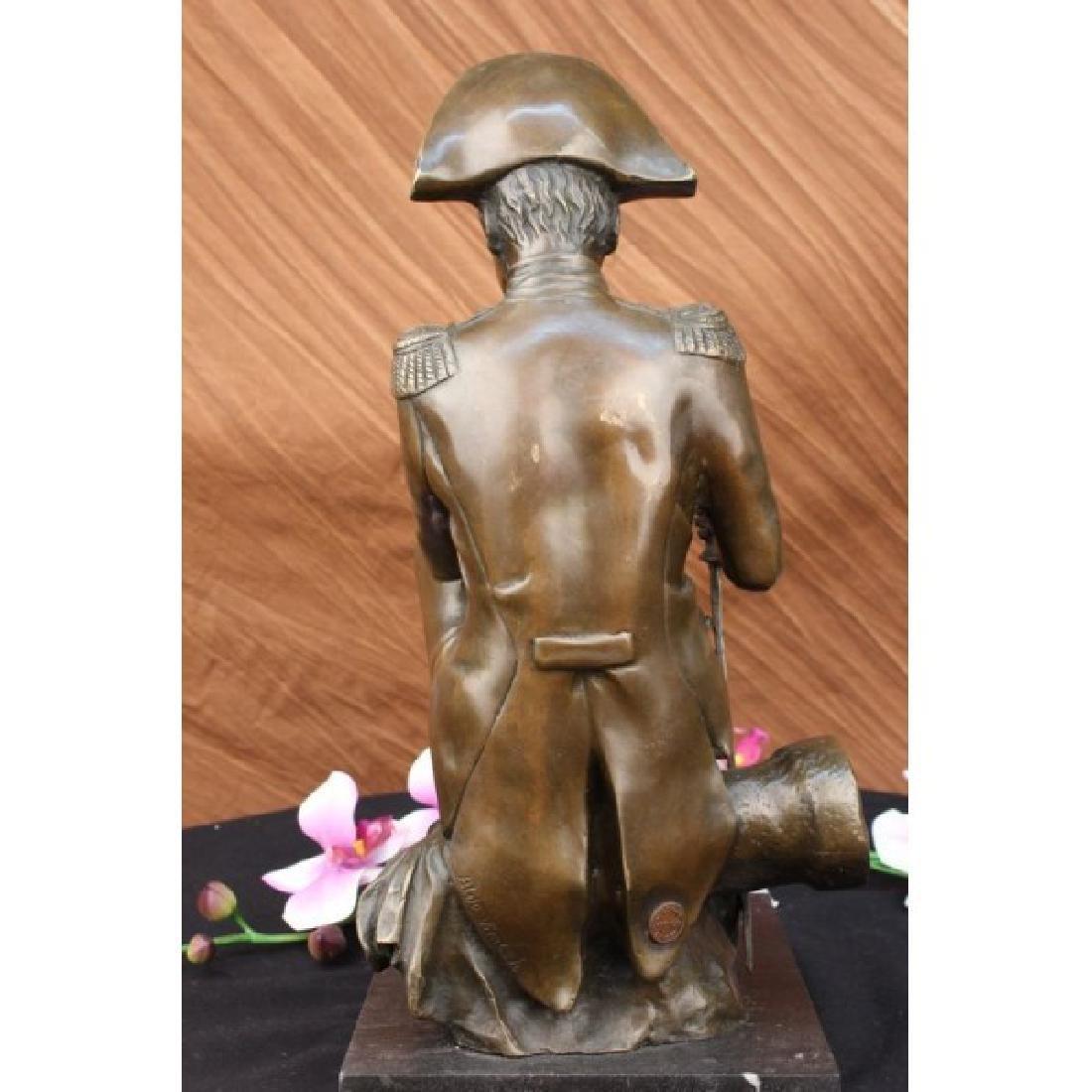 Giant Napoleon Bonaparte Bronze Statue by Aldo Vitaleh - 4