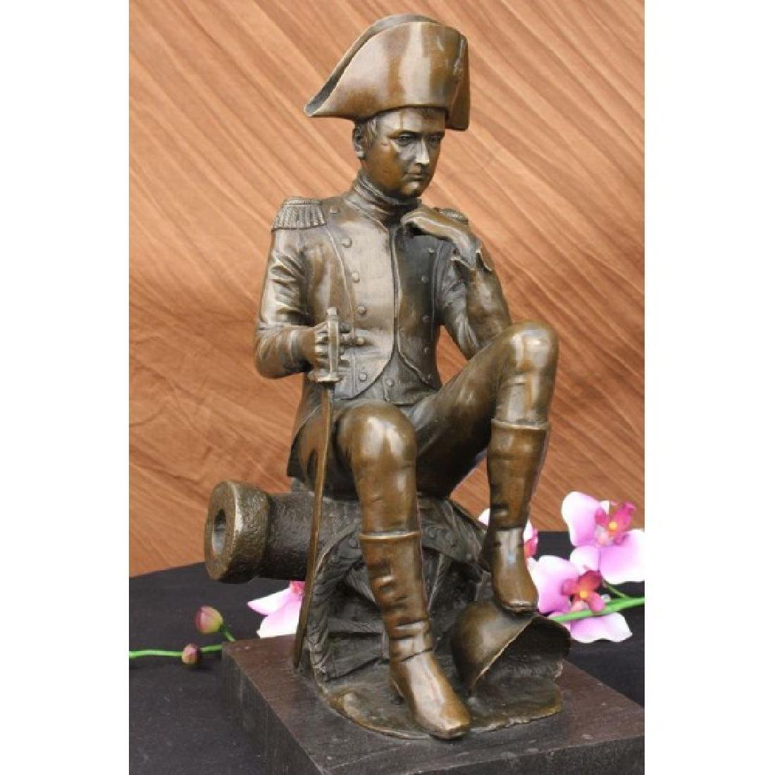 Giant Napoleon Bonaparte Bronze Statue by Aldo Vitaleh - 5