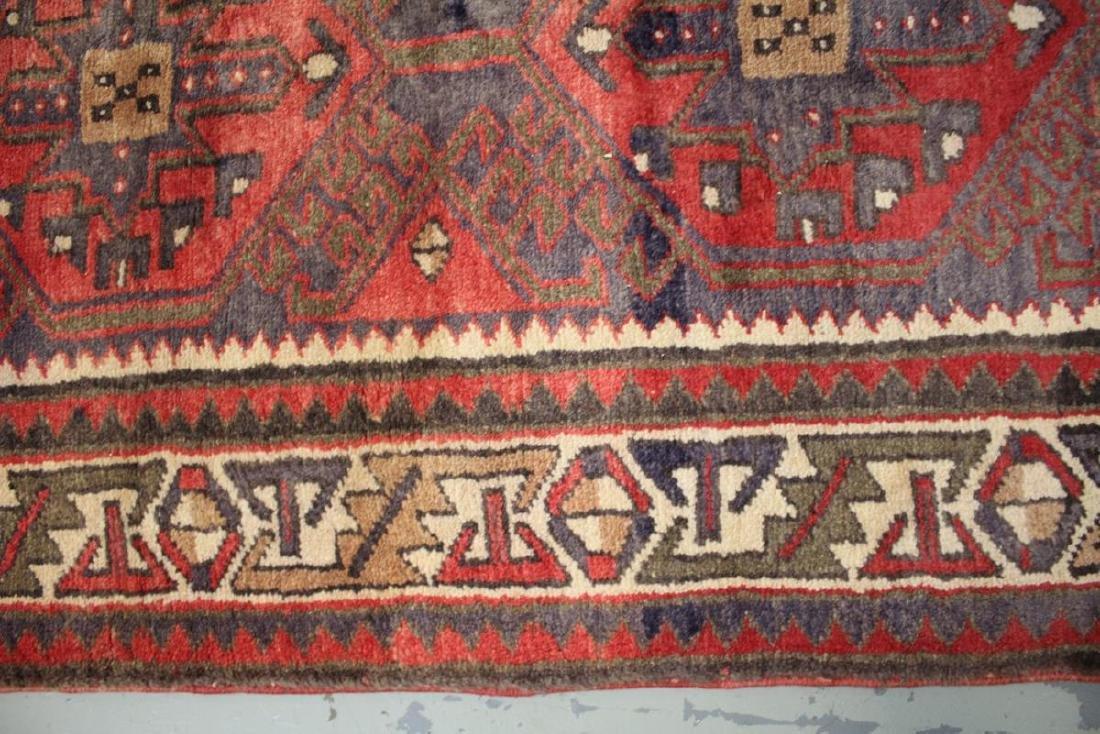 Handmade Semi Antique Persian Heriz 3.4x10.9 - 4